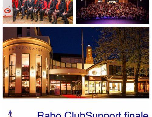 Optreden Finale-avond RaboClubsupport 2019